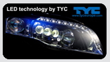 LED Headlamp banner